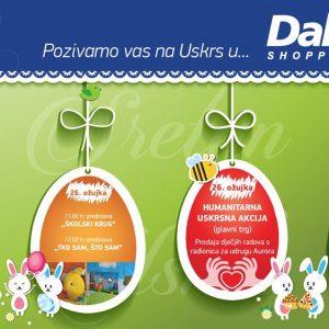 Sportska subota u shopping centru Dalmare!
