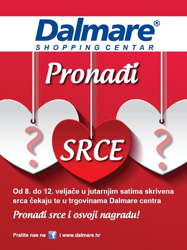 Pronađite skrivena srca i osvojite divne nagrade u Dalmareu