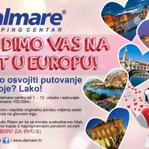 Dalmare najzaljubljenije vodi na putovanje u Europu