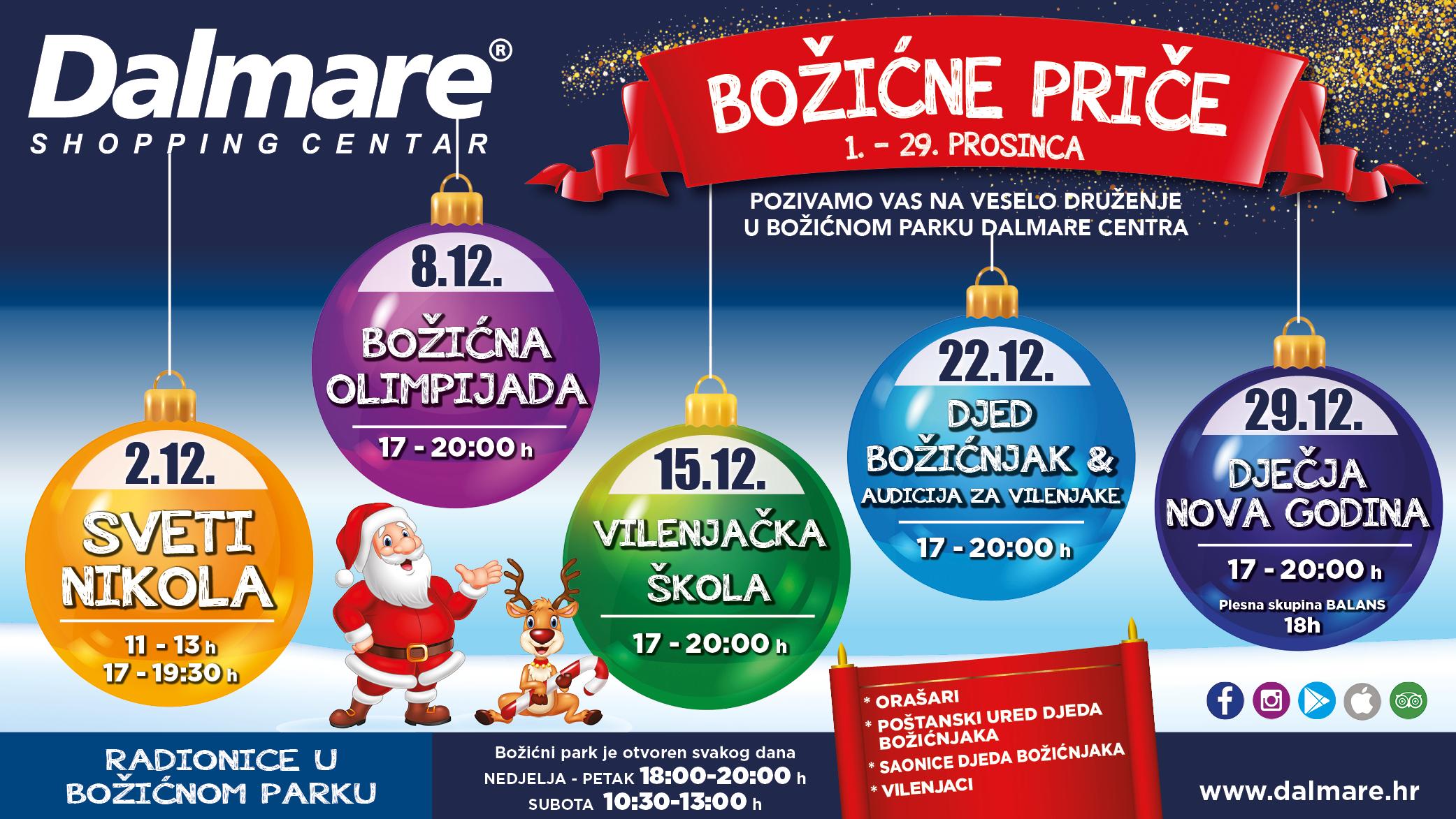 Božićne priče u Dalmare centru..