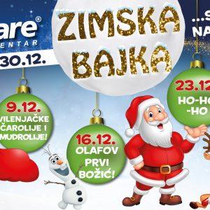 Doživite božićnu čaroliju u centru Dalmare!