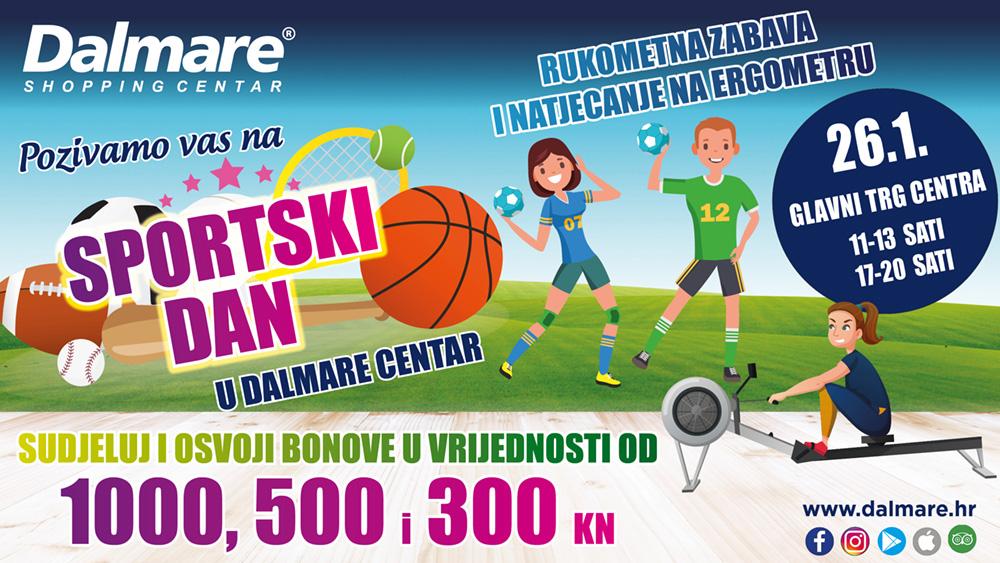 Sportski dan u Dalmare centru!