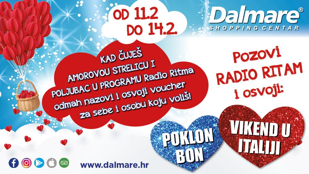 Valentinovo u Dalmare centru!