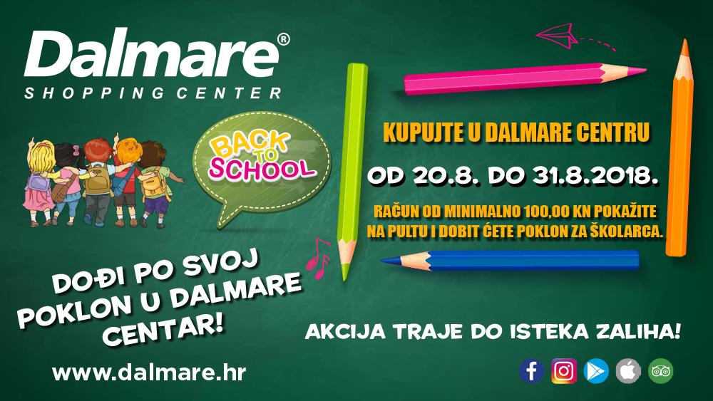 U Dalmare dođi i školski pribor osvoji!