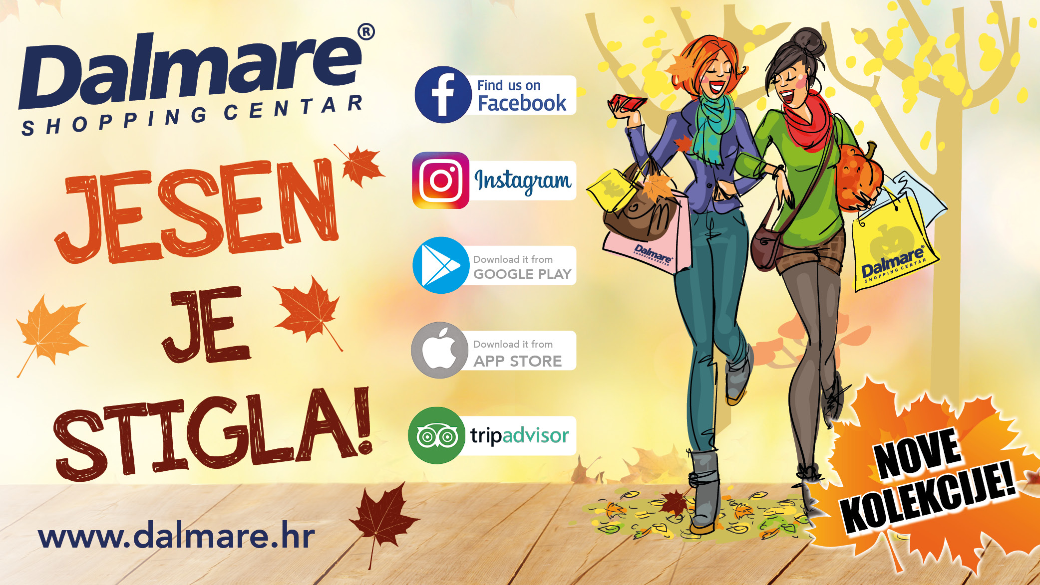 Jesen u Dalmare centru!