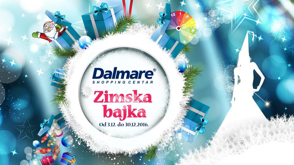 Zimska bajka u shopping centru Dalmare!