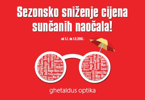 Odaberite najbolje sunčane naočale uz odličan popust do 30%