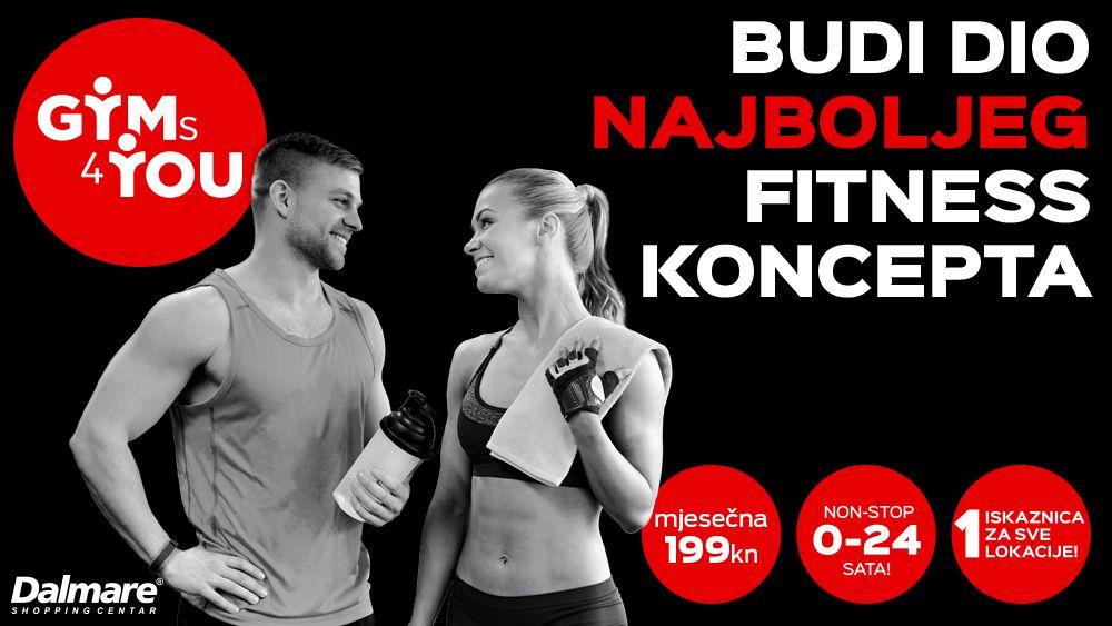 Budi dio najboljeg fitness koncepta!