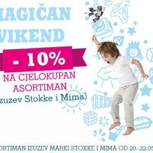 Magičan vikend u trgovini Magic baby!
