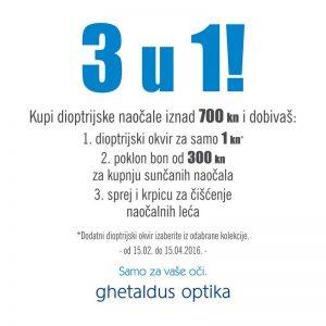 Ghetaldus optika – Massimo – novo zaštitno lice  kampanje Ghetaldus optike