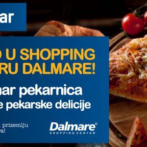Novo u shopping centru Dalmare!