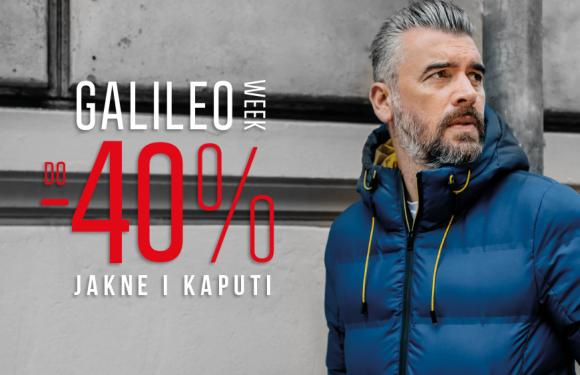 [Galileo week] do -40% na jakne i kapute!