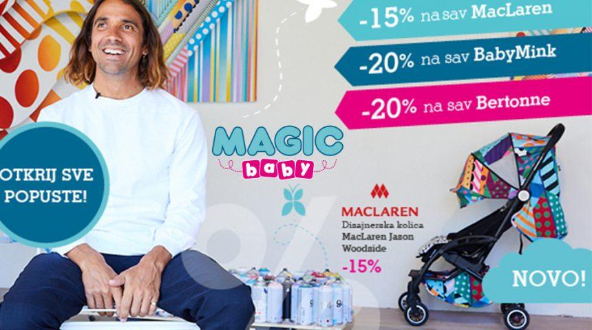 Magični popusti u Magic Baby trgovini!