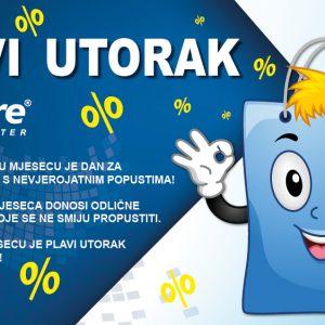 Plavi utorak u Dalmare centru!