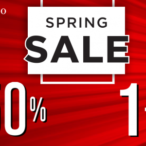 SPRING SALE popusti do -50% i 1+1 gratis!