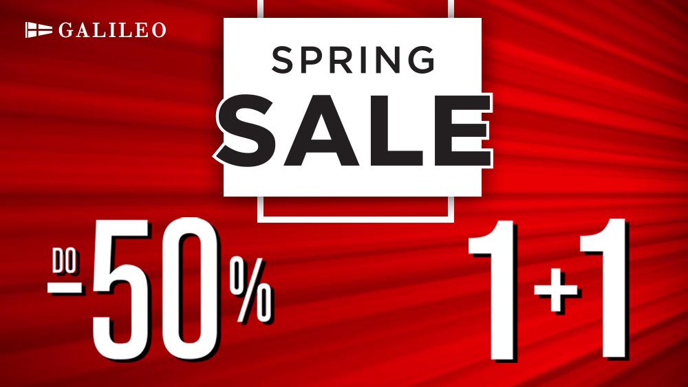 SPRING SALE popusti do -50% i 1+1 gratis!