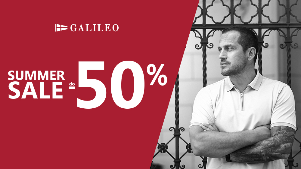 GALILEO SUMMER SALE do-50%!