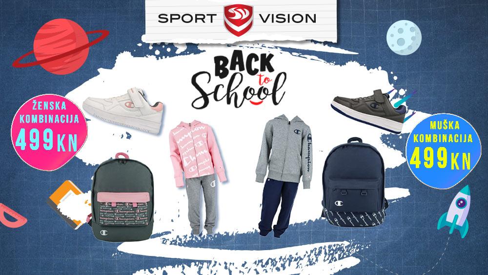 Back to School akcija u Sport Vision trgovini