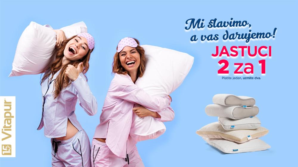 Ugrabi čak dva jastuka za cijenu jednog!