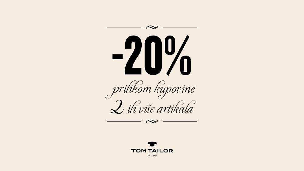 Tom Tailor akcija