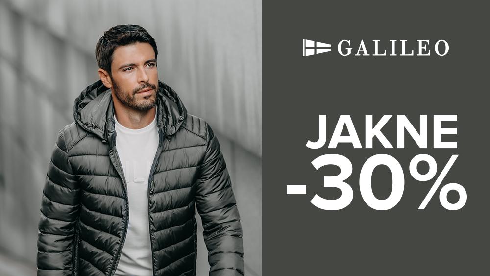 FALL DEAL -30% na sve jakne!