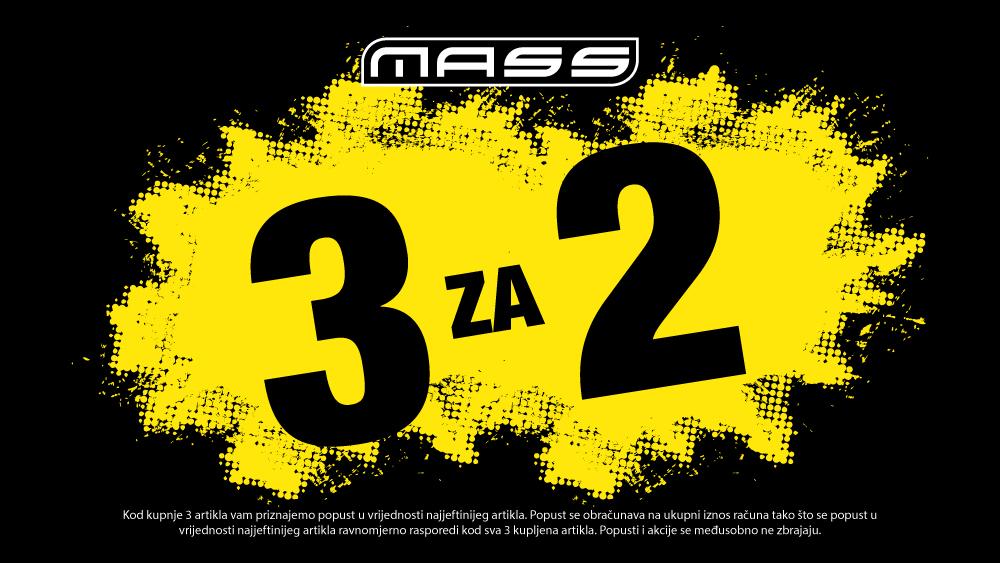 MASS akcija 3 za 2