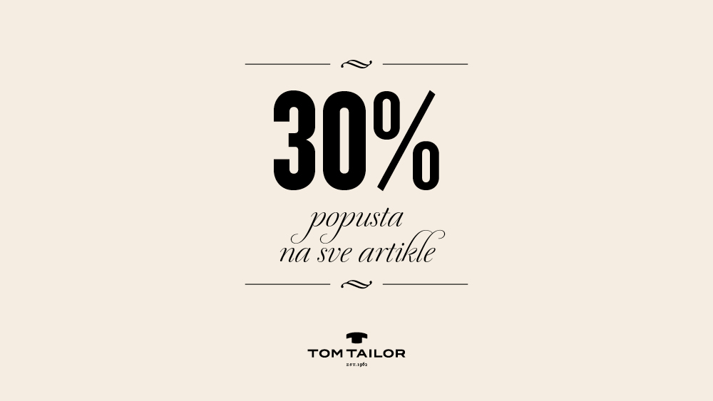 30% popusta na sve