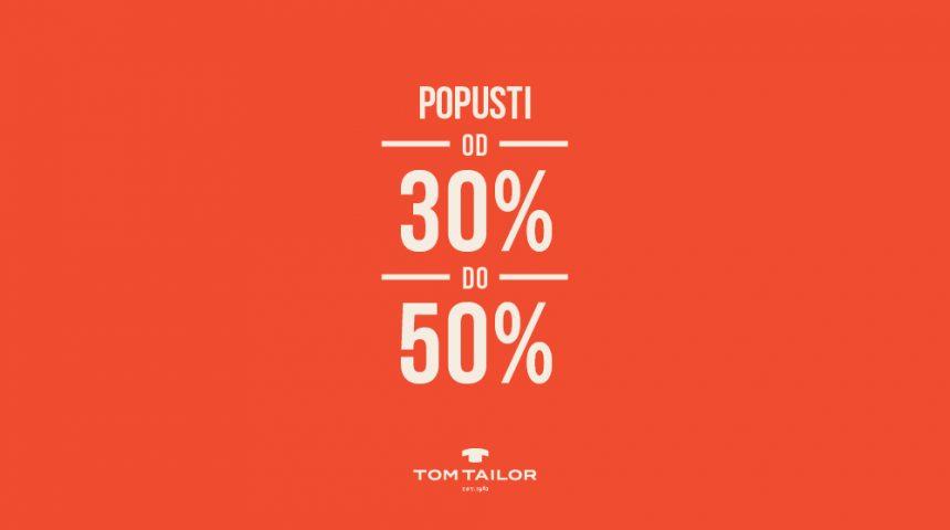 Popusti od 30% do 50%