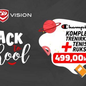 Sport Vision BTS Champion paket od 20. 8.